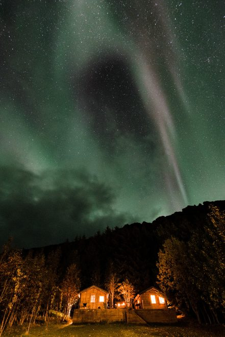 Northern Lights Aurora Iceland Roky