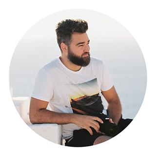 Roky Portrait Santorini