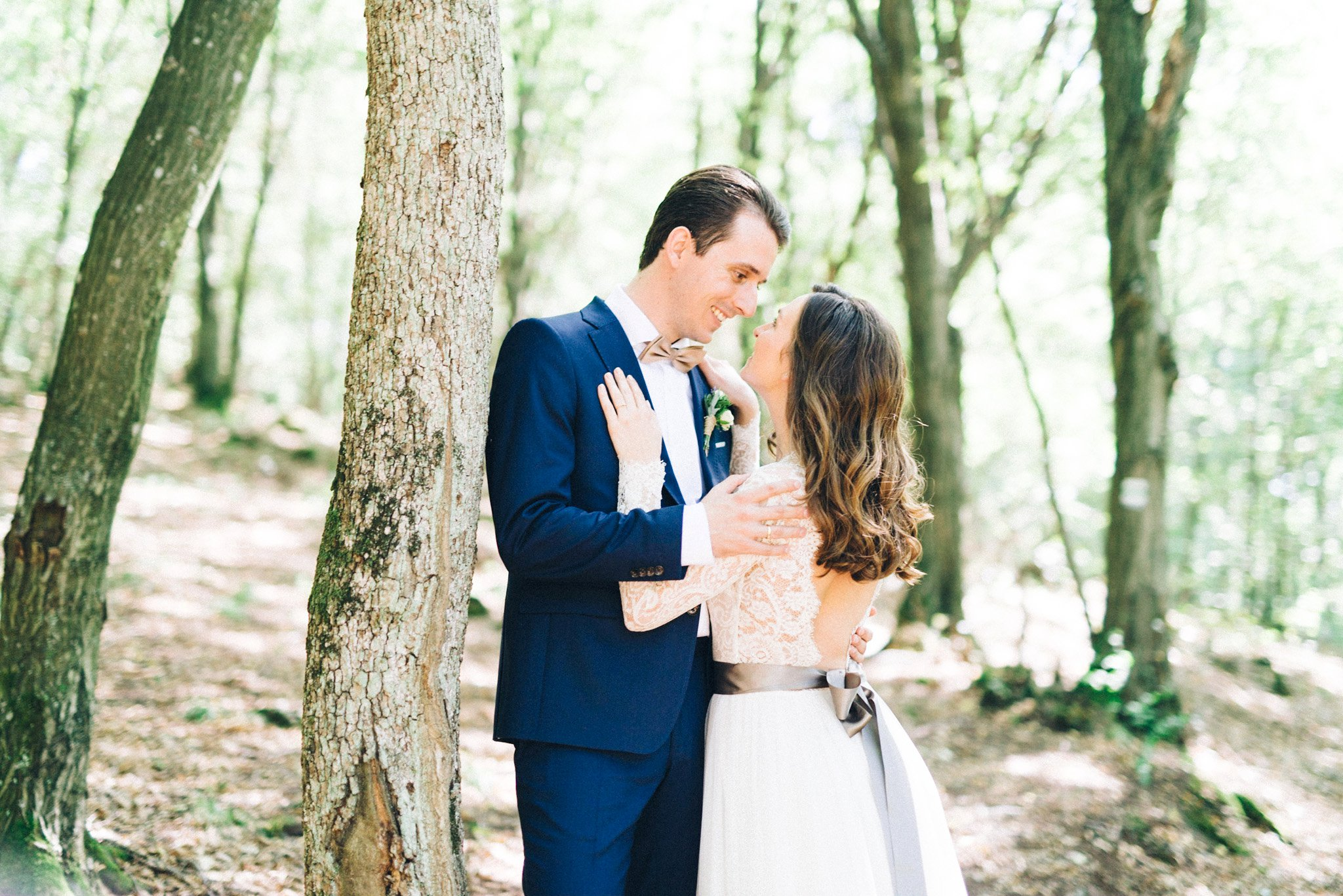 26-bride-portrait-forest-wedding