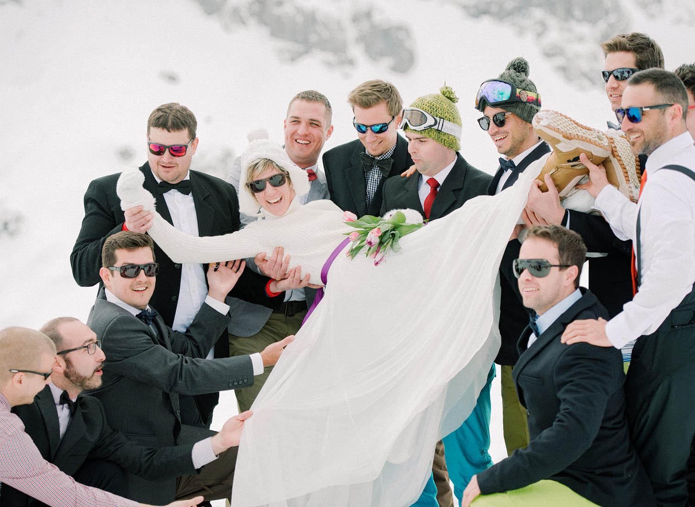 Bride in Nassfeld