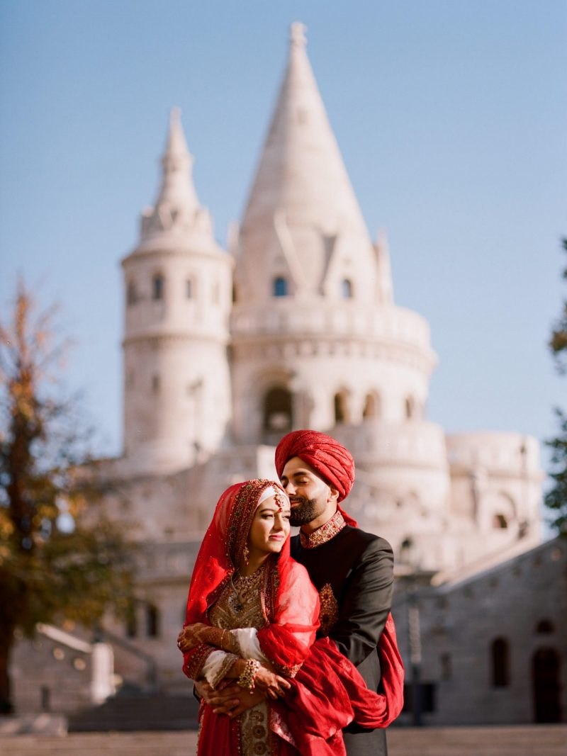 Oriental Pre-Wedding at the Fisherman's Bastion