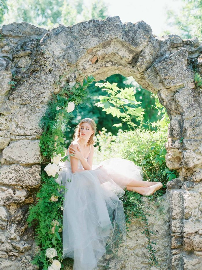French Bridal Bouidoir Styled Shoot