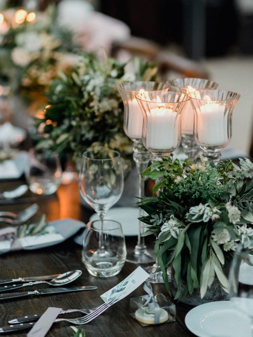 Tuscany Inspired Table Decor