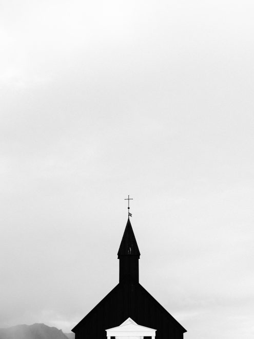 Budir Black Church Iceland