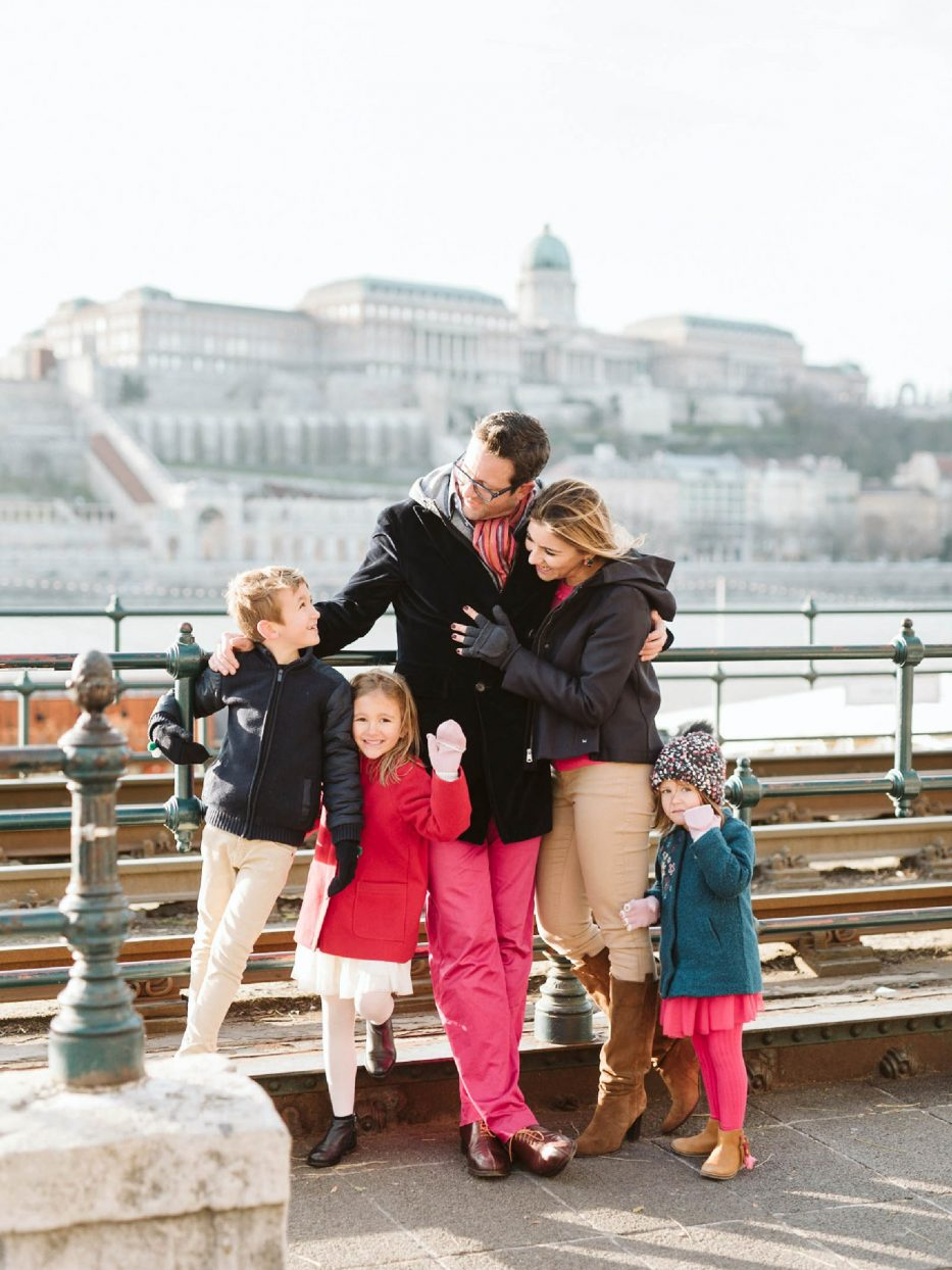 Christmas In Budapest Family Session Cover