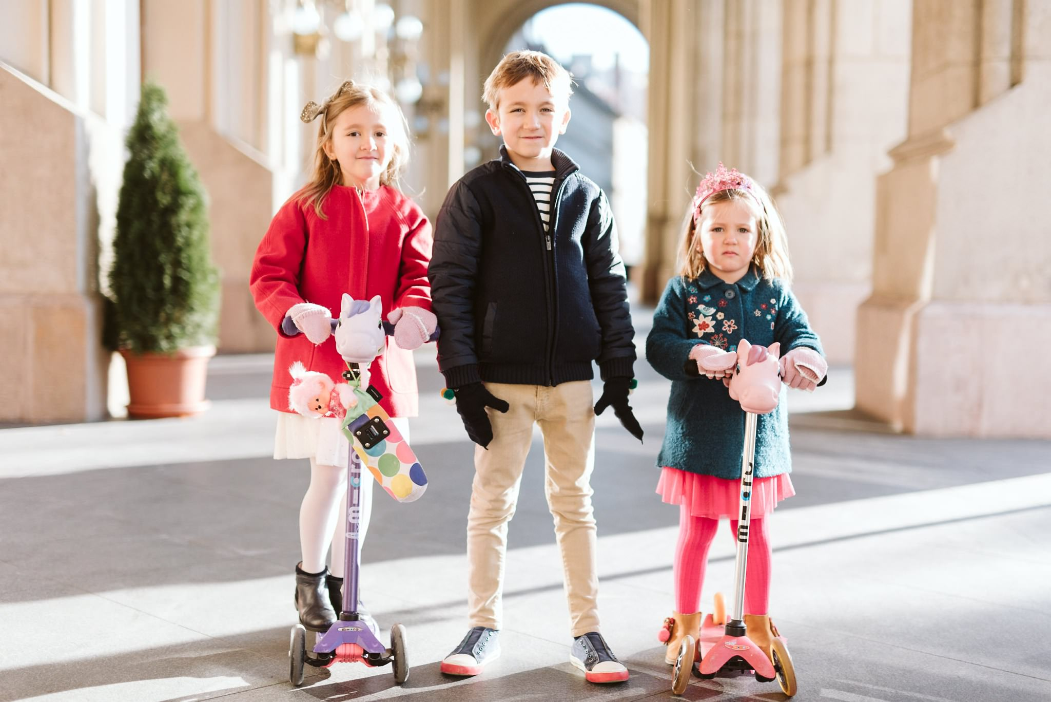 Christmas In Budapest Family Session