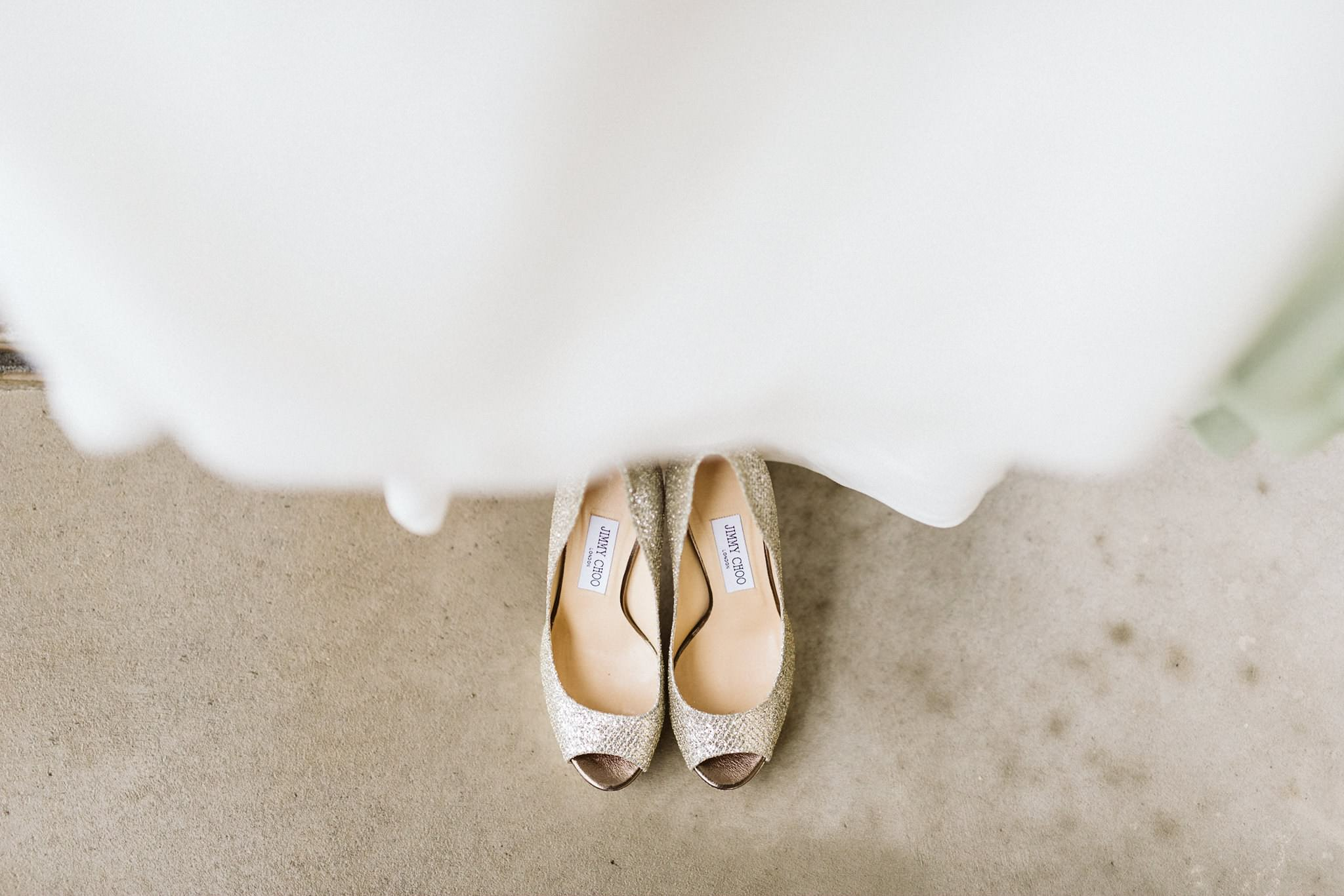 Austrian Wedding Jimmy Choo Shoes