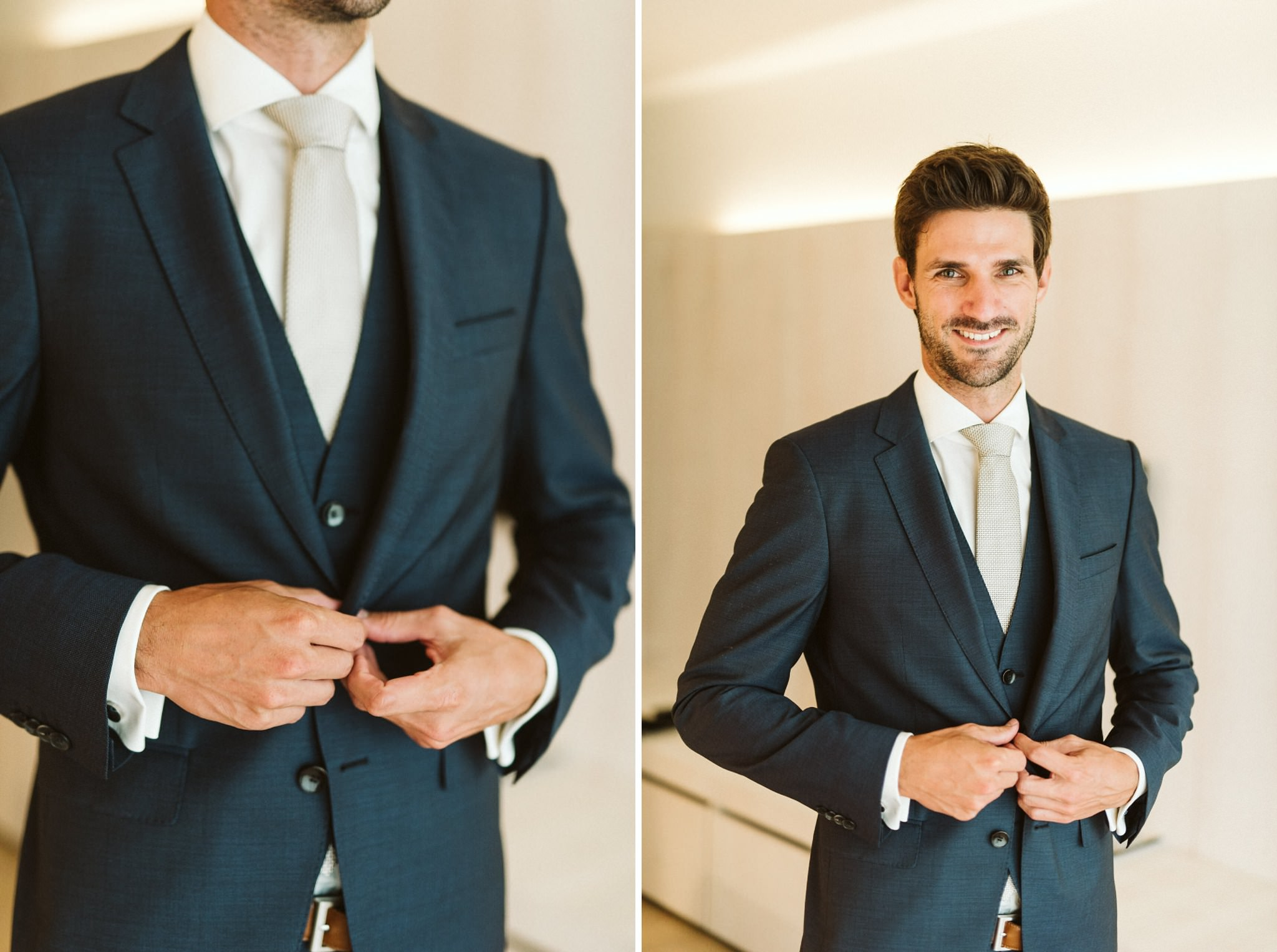 Austrian Groom Portrait