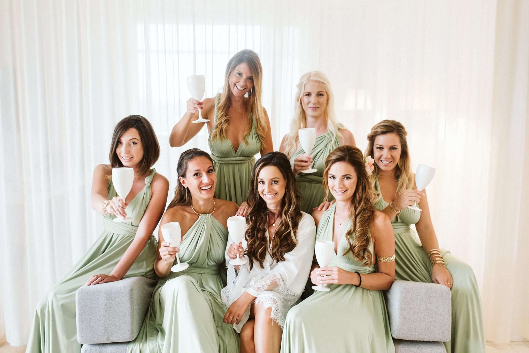 Austrian Bridesmaids