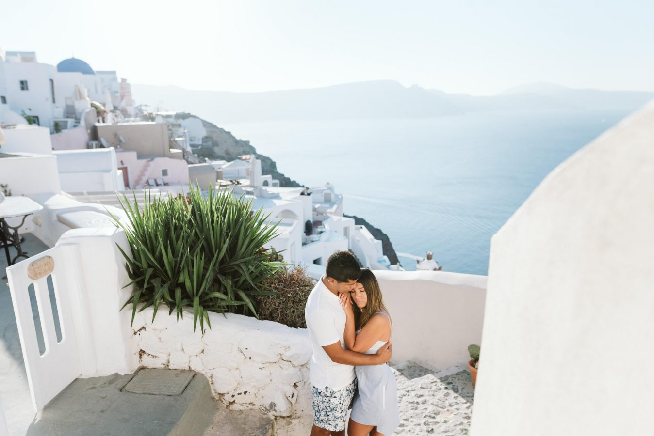 Sunrise Honeymoon In Santorini