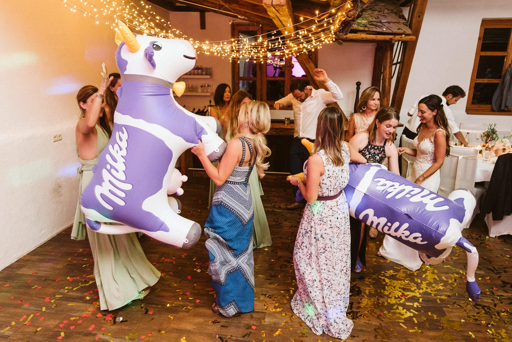 Milka Wedding