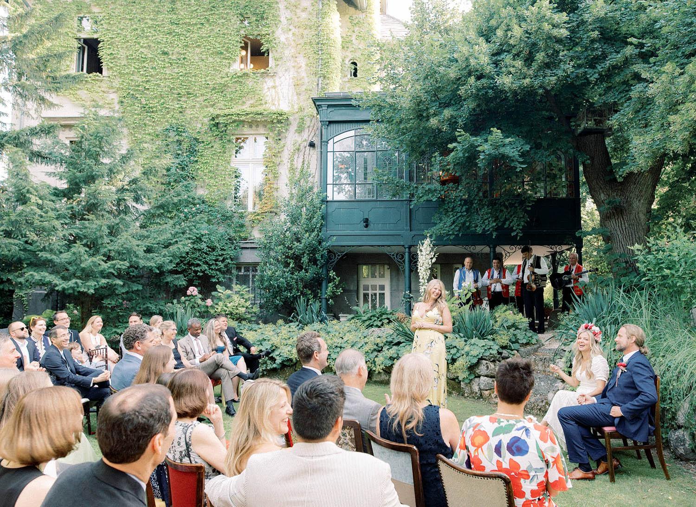Lush Summer wedding at the Writer's Villa