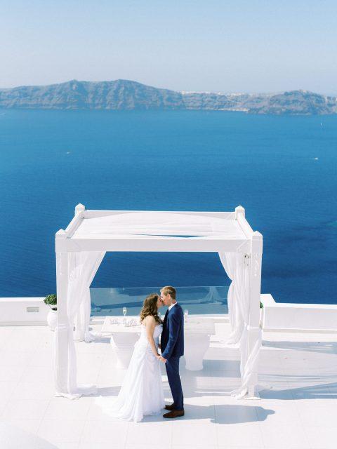 Ceremony Dana Villas Santorini