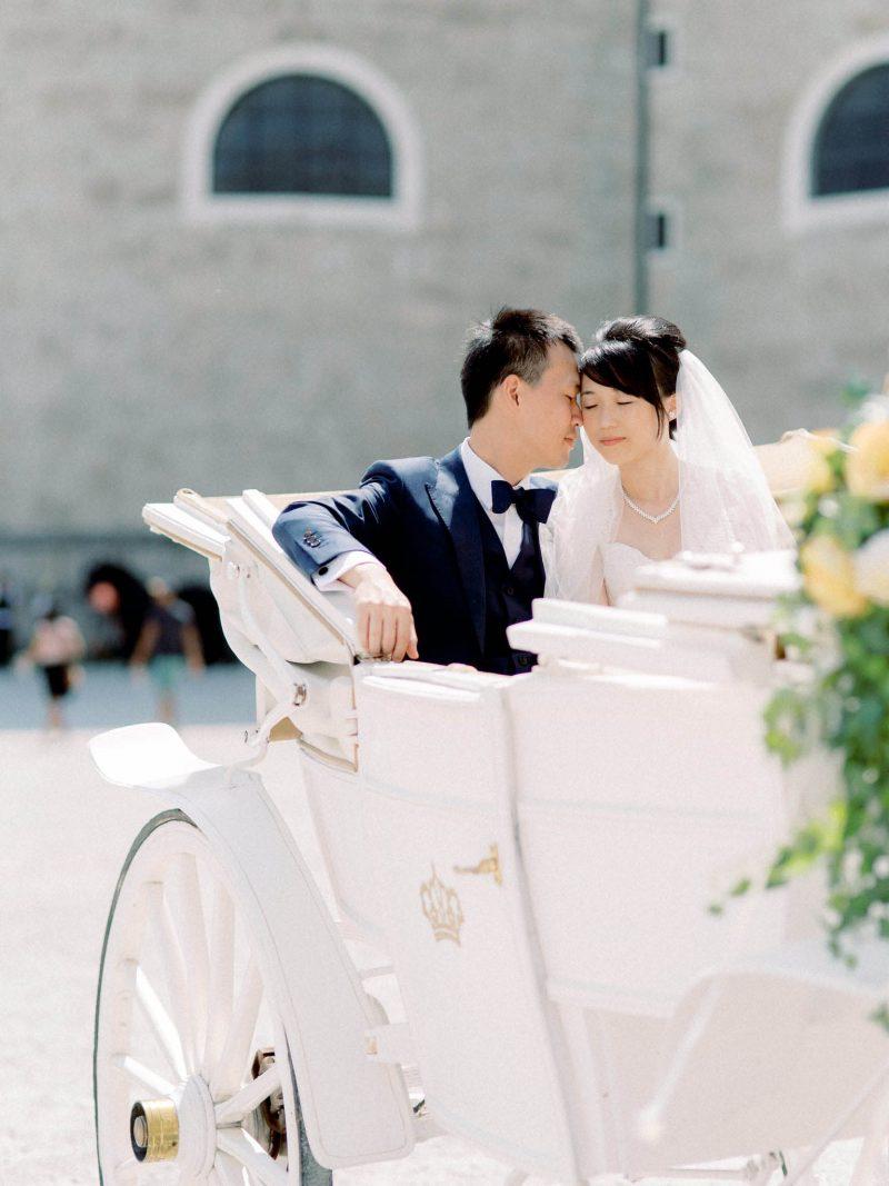 Salzburg Wedding Horsecarriage