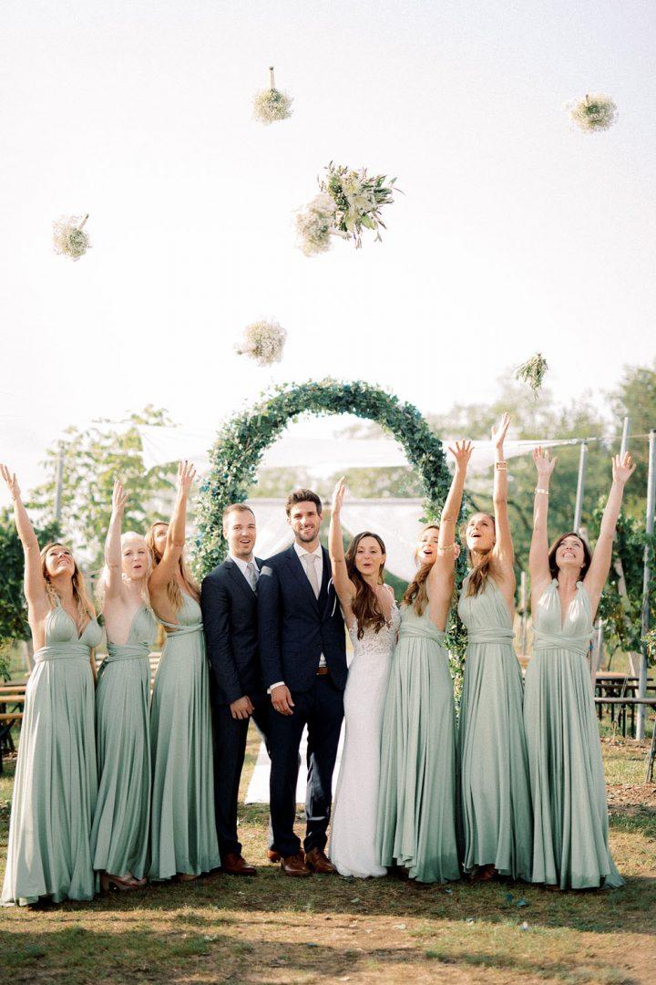 Hochzeit am Weingut