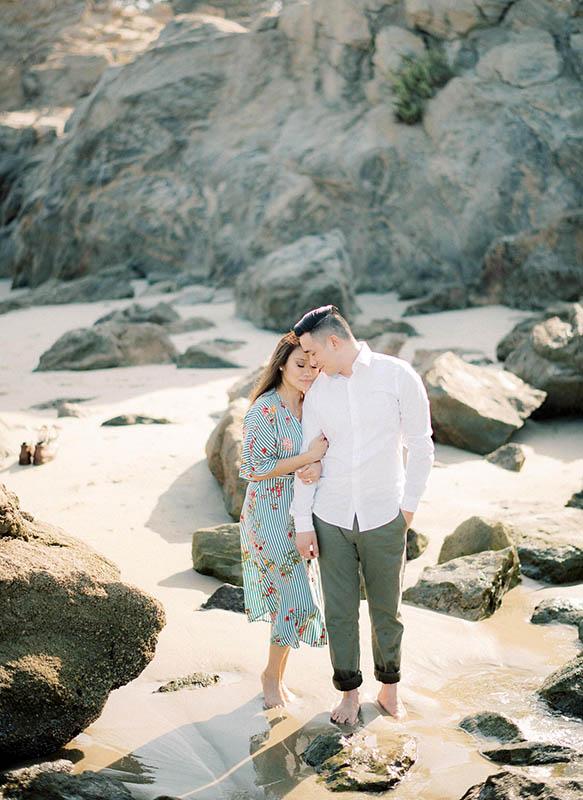 Southern California Beach Couple Shaoot