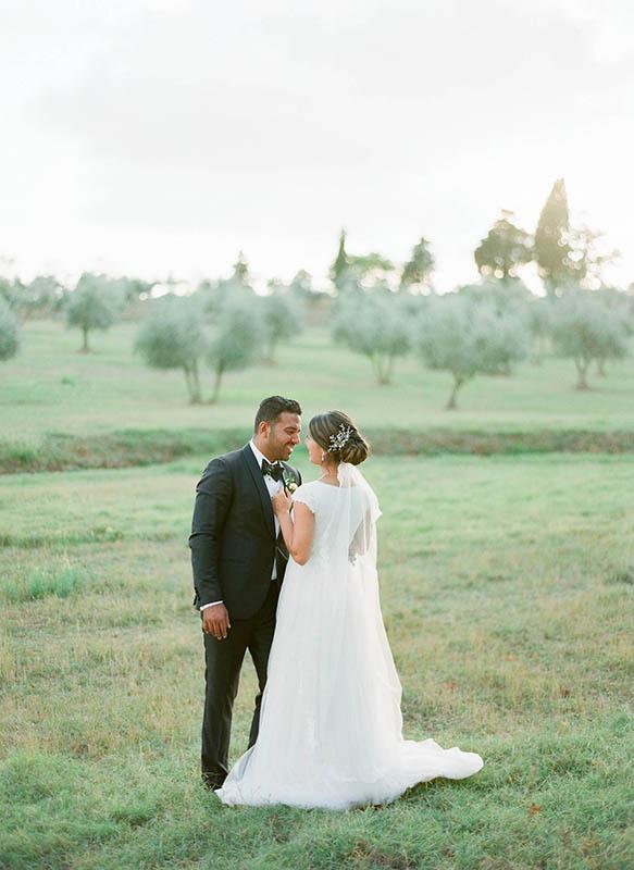 Tuscany Real Wedding Portrait
